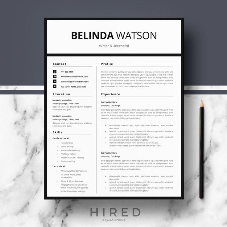 19 best minimalist resume    cv templates images on