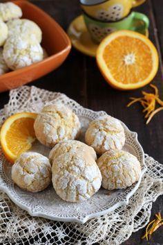 Biscotti morbidi all'arancia Dulcisss in forno by Leyla
