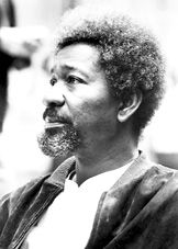 Wole Soyinka - a Nigerian hero, Nobel Prize winner, and writer extraordinaire. I met him in London once, and have admired how he has stayed engaged.