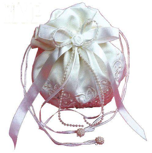 ♥ LadyMYP© Romantischer Brautbeutel, Brauttasche mit Blüten, Perlen und Strass, weiß/ creme(ivory, Elfenbein) ♥  Ansehen: https://www.brautboerse.de/ladymyp-romantischer-brautbeutel-brauttasche-mit-blueten-perlen-und-strass-weiss-cremeivory-elfenbein/   #Brautkleider #Hochzeit #Wedding