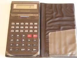 Resultado de imagen de calculadora cientifica casio