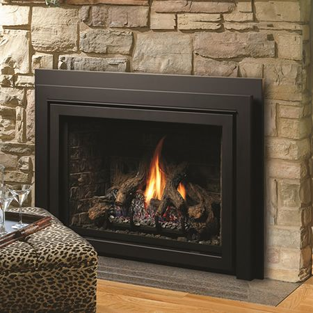 Kingsman IDV43 Clean View Direct Vent Fireplace Insert | WoodlandDirect.com: Indoor Fireplaces: Gas Inserts #LearnShopEnjoy