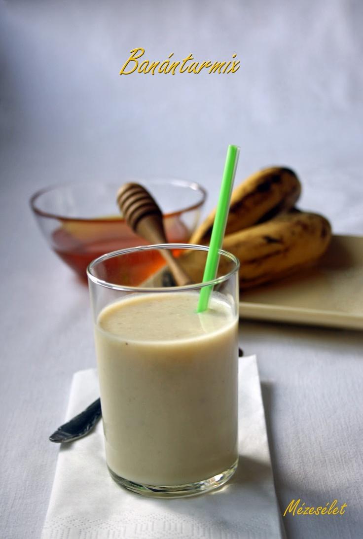 Banánturmix