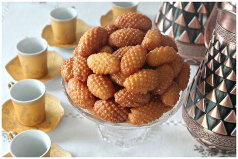 Encore une recette sucrée, un vestige de l'empire Ottoman qu'on retrouve sous divers appelations : les coquillages, Skerfage ou encore esc...