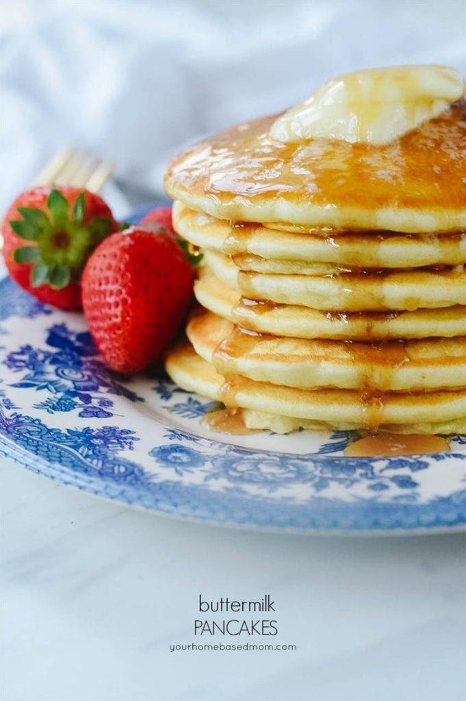 Buttermilk Pancakes Recipe Homemade Buttermilk Pancakes Buttermilk Pancakes Savoury Cake