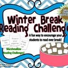 Looking for a way to encourage your students to read over winter break? Try this free and fun activity!   Set a goal together as a class and then s...