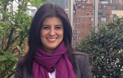 Dra. Andrea Velandia, Vicedecana de la Facultad de Psicología