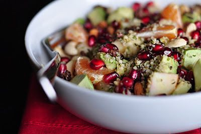 Nourishing Meals: Morning Winter Fruit Bowls with Hemp Seeds and Cacao Nibs