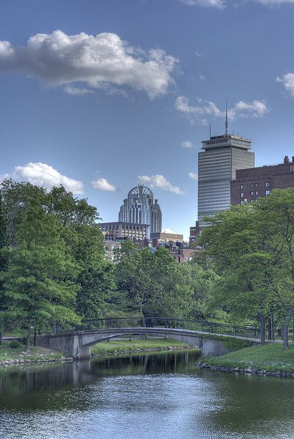 Charles River, Back Bay, Boston, Massachusetts