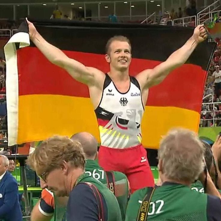 Yes he did it! Fabian Hambüchen ( @fhambuechen ) - one of the most likeable German athletes I've ever seen - won Gold at #olympia2016 !  It was his last competition and he was the first to show his skills at gymnastics in today's tournament.  Congrats it was a pleasure to watch this! Well deserved! :D  The pic was taken by me during the Internet livestream of ARD.  #Olympics #olympia #fabianhambüchen #fabianhambuechen #gymnastics #kunstturnen #olympics2016 #goldmedal #gold #congrats #germany…