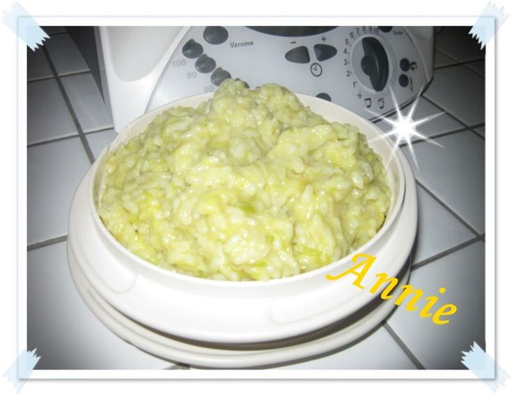Risotto aux poireaux thermomix weight watchers