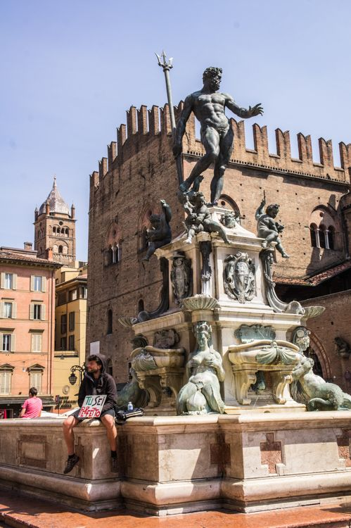 Fountain of Neptune - Bologna, Italy