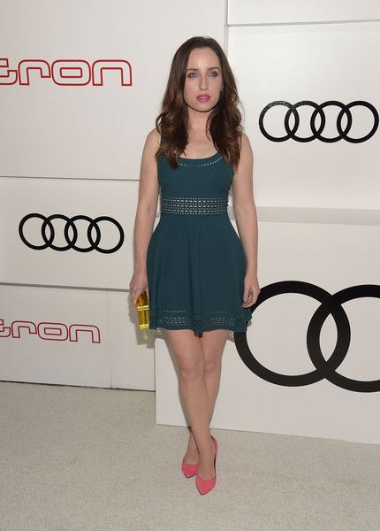 Actress Zoe Lister-Jones attends the Audi Celebrates Emmys Week 2015 celebration at Cecconi's on September 17, 2015 in West Hollywood, California.