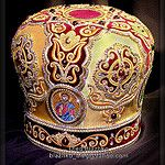 mitre by Blazhko's gold embroidery