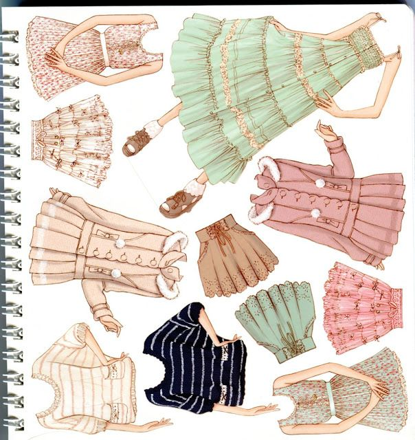 Oshare Note Liz Lisa - Art by Naoki Watanabe - Mama Mia - Picasa Web Albums