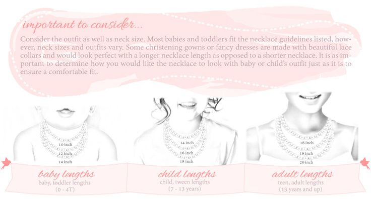 Necklace Size Chart for Girls | Find Necklace Size