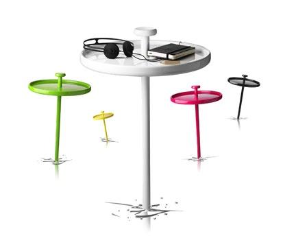 Pin Table  ピンテーブル  デザイナー: Andreas Engesvik