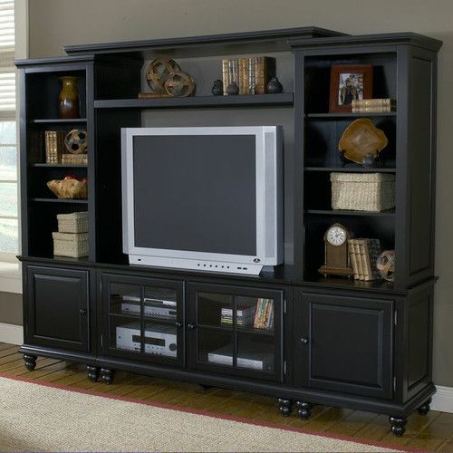 "Hillsdale Furniture Grand Bay 95"" Entertainment Center"