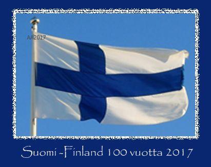 Suomi-Finland 100 vuotta 2017  by Aili Alaiso
