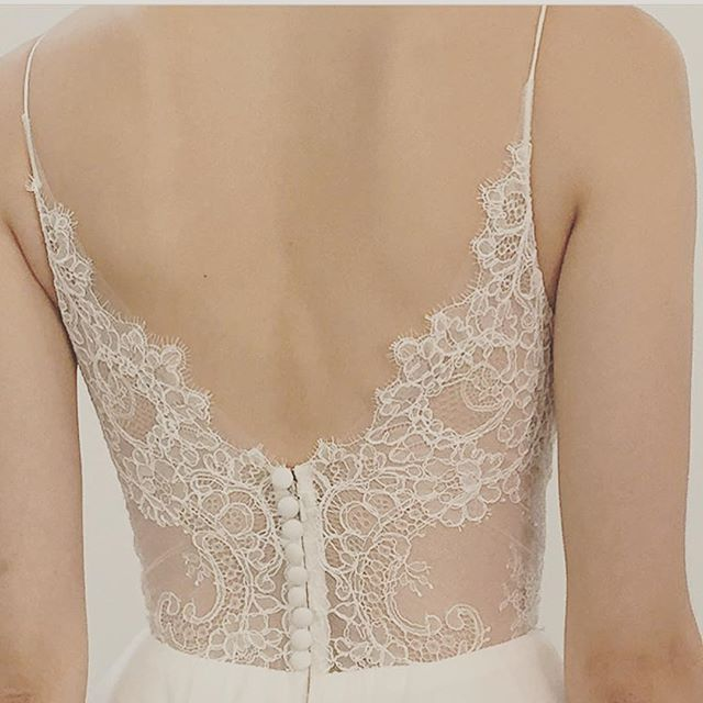 Love the detail on this gorgeous new @christosbridal collection! Cannot wait to get them in! #hautebride #Christos #bridalgown #lace #losgatos #bayareabridalsalon @hautebridesalon
