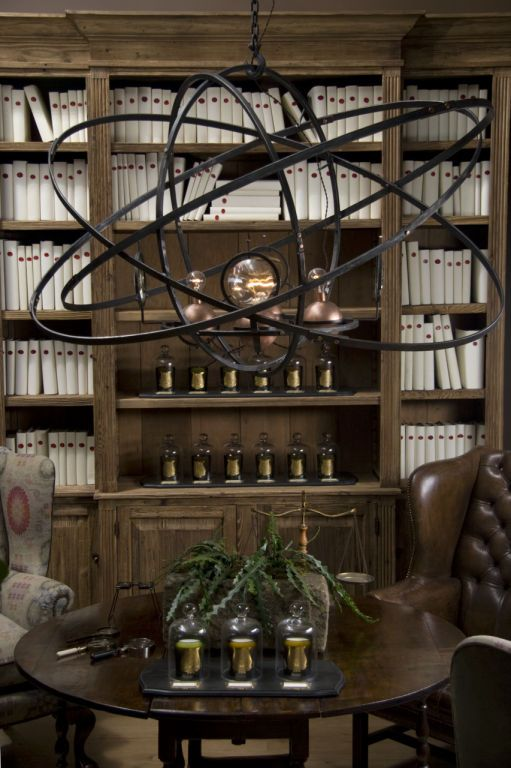greige: interior design ideas and inspiration for the transitional home : Steampunk and The New Victorians Lighting