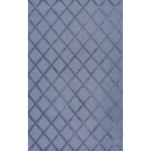 Blue Rectangular: 7 Ft. 6 In. x 9 Ft. 6 In.