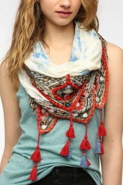 Need a wardrobe refresher? Accessorize with this Velour Scarf for a new look. | Best Mother's Day Gifts - Parenting.com