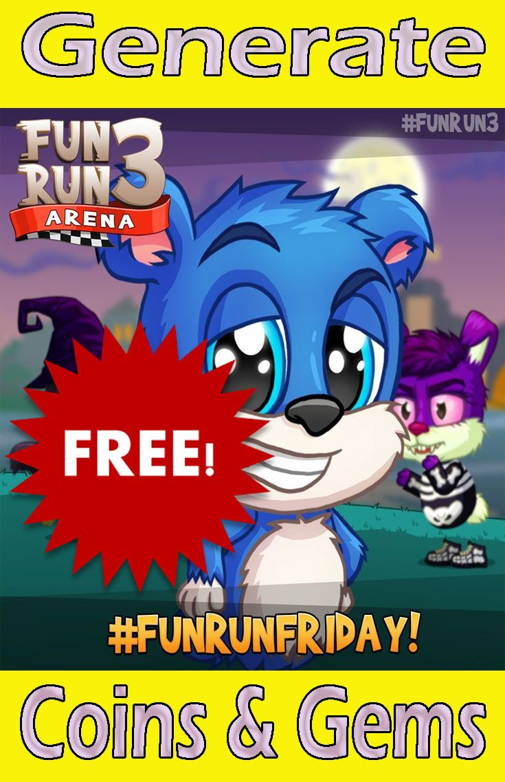 Fun Run 3 Hack Apk : #Generate, #Unlimited, #Gems, #Coins