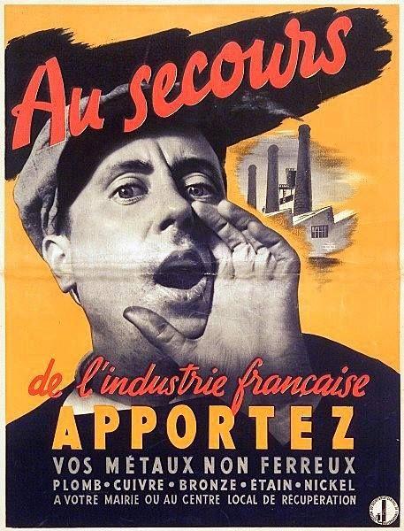 LA DESTRUCTION DES STATUES DE PARIS 1941-1943. La IIIe République mit à l'honneur les « Grands Hommes » de la France, en commandant à divers artistes, une profusion de statues, souvent en bronze. A Paris, près d'une centaine de ces œuvres ont aujourd'hui disparu. 17000 statues allégoriques, commémoratives ou décoratives, dans toute la France. Sous l'Occupation, elles ont en effet été retirées par les services de Vichy pour être brisées et fondues, au bénéfice des Nazis. Le bronze fondu des s