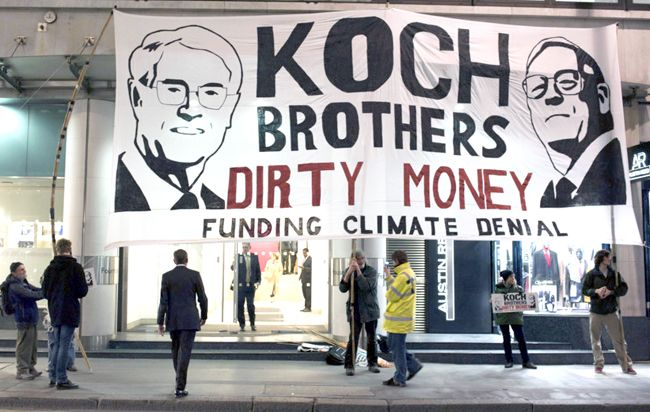 New study exposes true extent and influence of climate denial echo chamber for the first time. There are some 4,556 individuals with ties to 164 organizations that are involved in pushing anti-climate science views on thepublic. Funding from ExxonMobil and the Koch family foundations have notoriously played a part in building the climate denial movement, according to the Nature Climate Change study.
