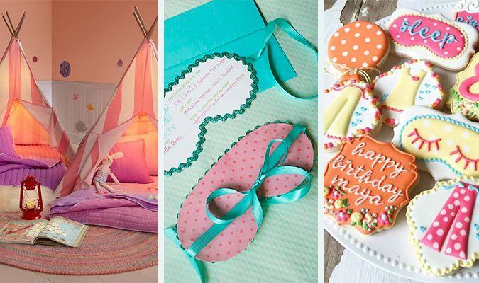 Dicas e ideias para organizar uma festa do pijama   Macetes de Mãe