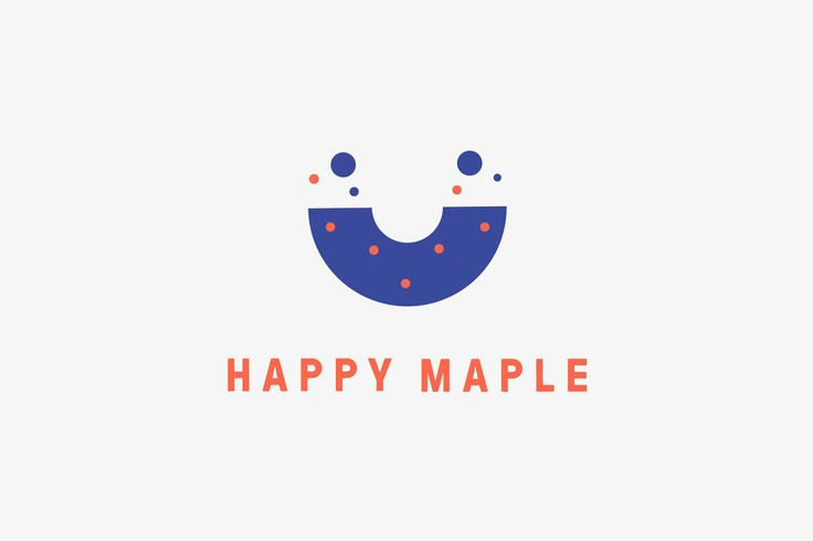 Happy Maple by Garbett, Australia #graphic #design #brand #identity #logo #food