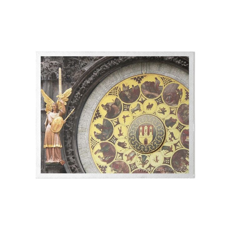 Prague Clock - Photography by Alice Iordache by VanyssaGraphics