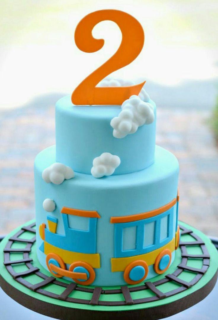 Cho cho train birthday cake