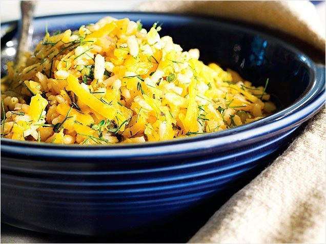 Go meatless with 65 vegetarian recipes.: Butternut Squash, 71 Healthy, Healthy Dinners Recipes, Healthy Choice, Squash Pilaf, Healthy Dinner Recipes, Healthy Food, Veggies Recipes, Vegetarian Recipes