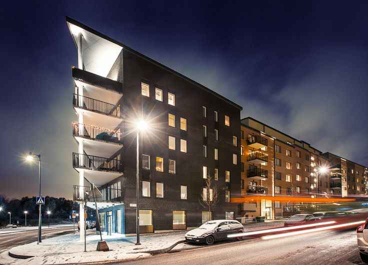 Winter in Ursvik, Sundbyberg