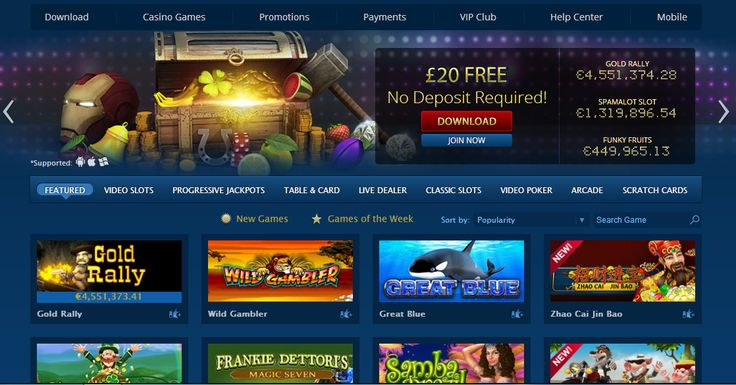 $20 no deposit brought to you by LCB (US OK) http://www.latestcasinobonuses.com/onlinecasinobonusforum/exclusive-no-deposit-casino-bonuses/europa-casino-$20-no-deposit-bonous-playtech-casino/ ◄◄◄
