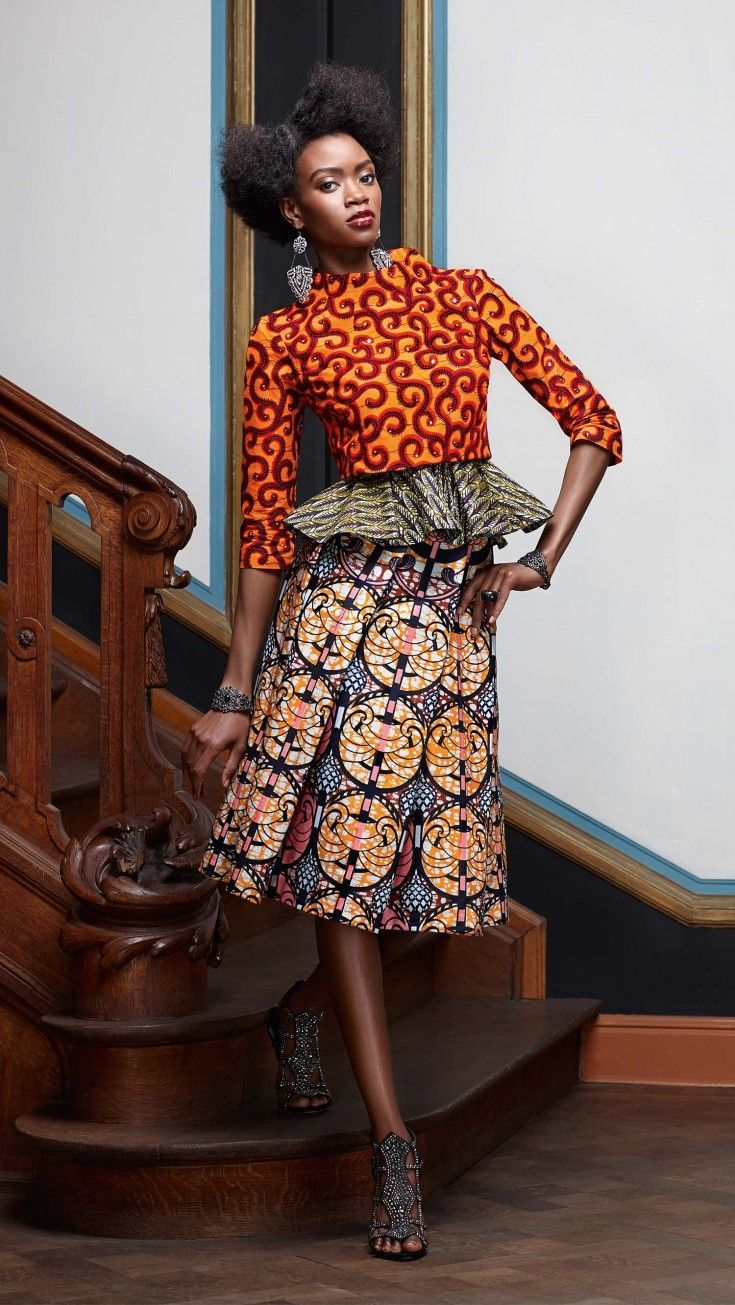 new collection 'splendeur'vlisco  african fashion