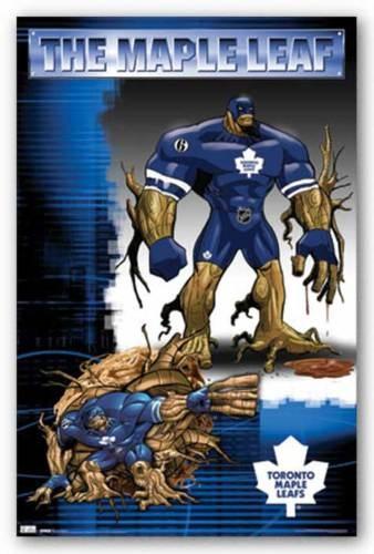 Hockey Poster Toronto Maple Leafs