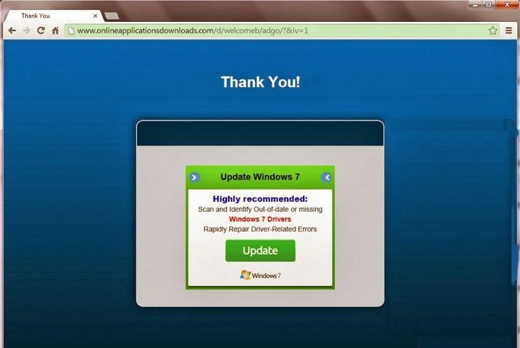 www.onlineapplicationsdownloads.com Pop-up est les pirates de navigateur suspects qui fouillis de votre ordinateur sans votre connaissance ou permission. Il s'installe sur l'ordinateur cible sans aucune intervention