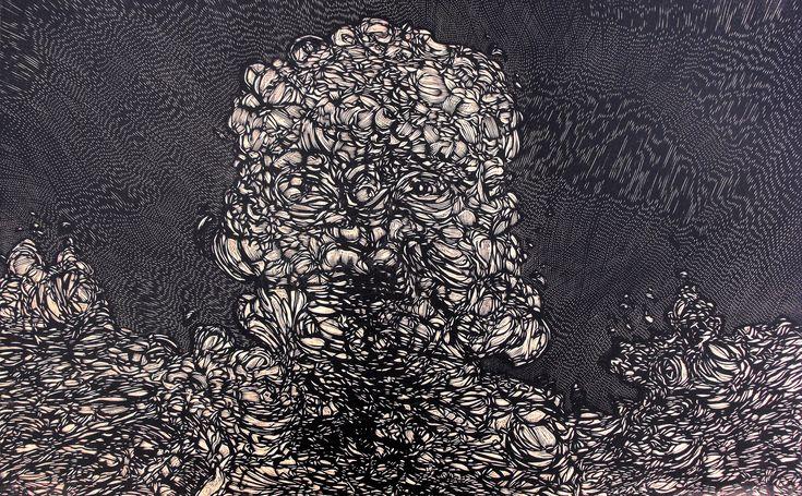 Xilografía 80 X 60 cm