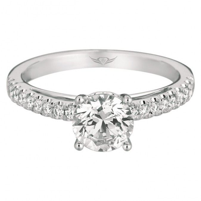 Martin Flyer FlyerFit Bridal Solitaire Engagement Ring
