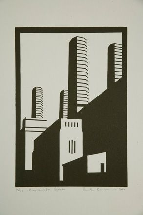 Paul Catherall linocuts exhibition at Paul McPherson Gallery, London | Art | Wallpaper* Magazine: design, interiors, architecture, fashion, art