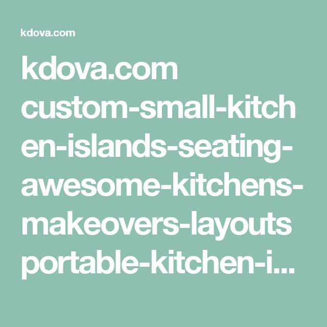 Ikea Portable Kitchen Island With Seating