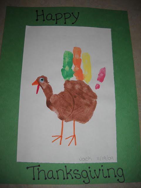 Mamas Like Me: Painted Hand Turkey