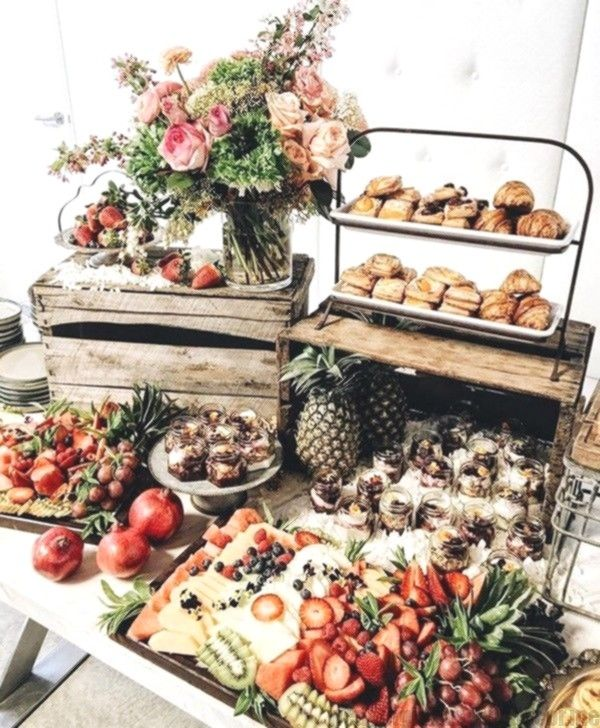Trending 10 Epic Wedding Charcuterie Table Food Ideas For 2019 Garden Party Recipes Food Displays Food Display