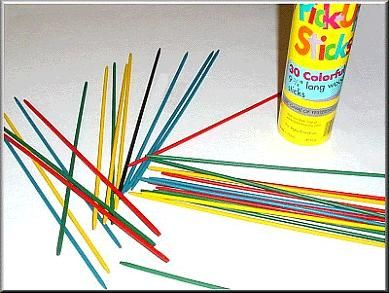 how to play pick up sticks points