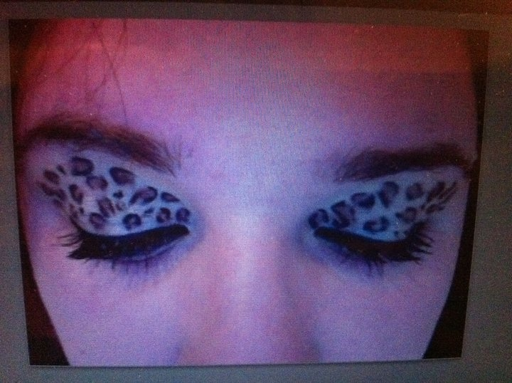 Leopard print eyeshadow!! •nk• @makeupbynataliek