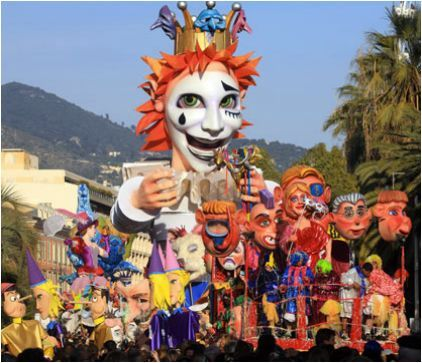 Carnaval de Nice Improve your French listening comprehension while learning about the history of Nice's immense Carnaval celebration.  www.lawlessfrench...