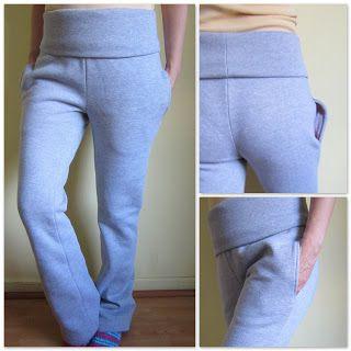 Patrón de costura Talla 36. Pantalón de pretina ancha | EL BAÚL DE LAS COSTURERAS